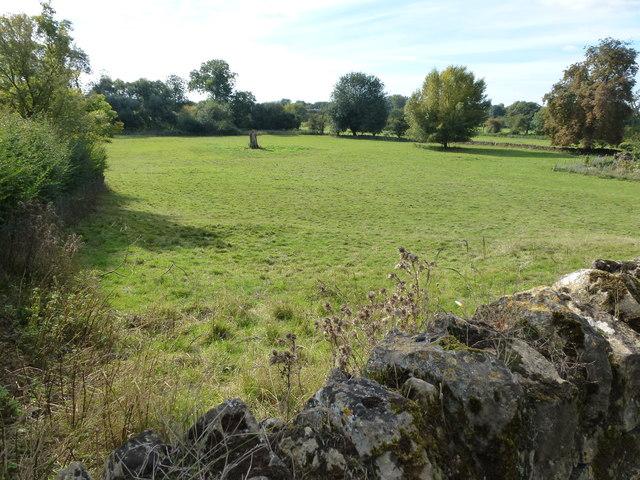 Grass parkland south of Oundle