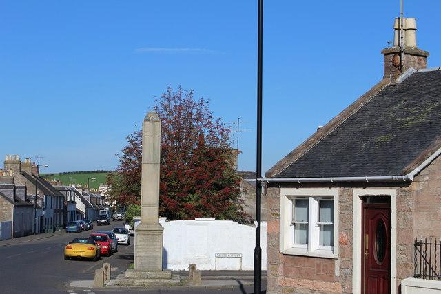 War Memorial, Crosshill
