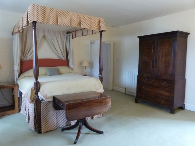 Bedroom at Cadhay House