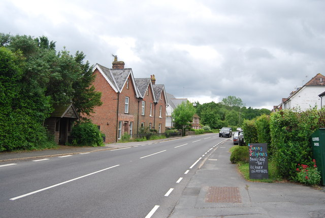 A265, Burwash Weald
