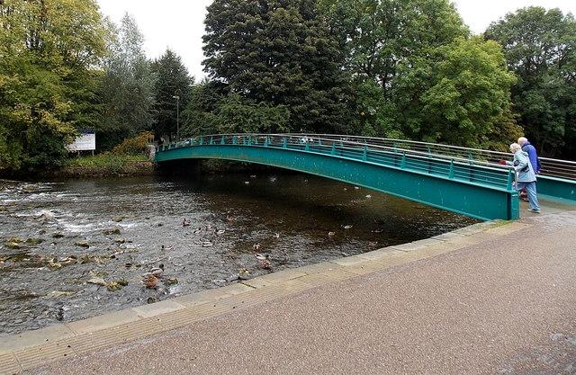 Wye footbridge, Bakewell
