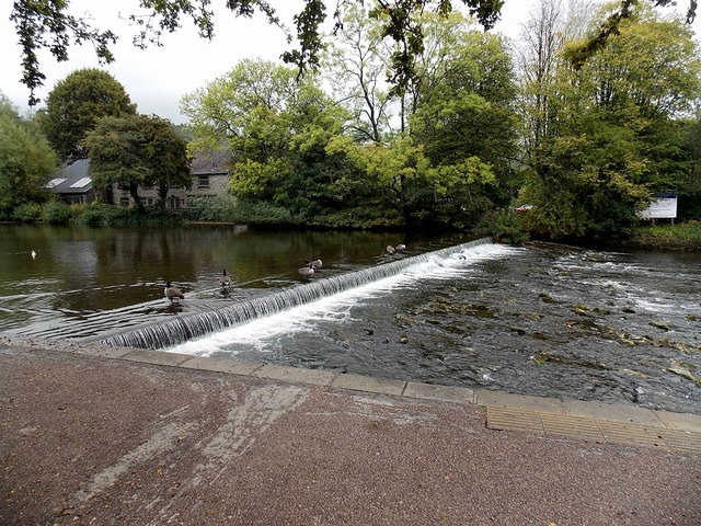 Wye weir at Bakewell