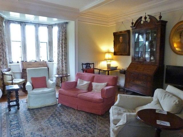 Interior of Cadhay House, Devon