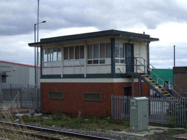 Signal box, Bloxwich