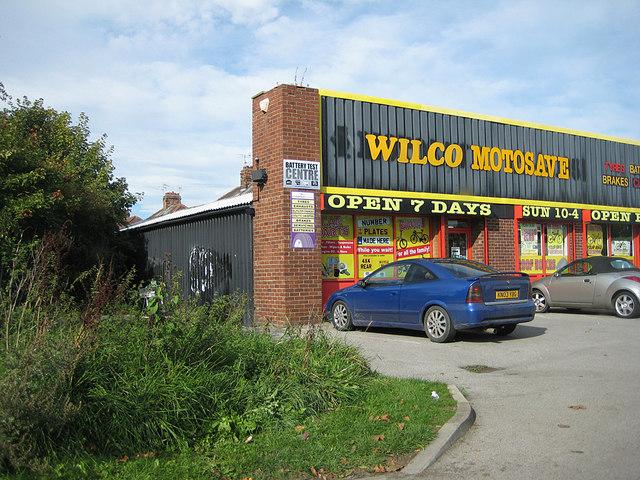 Retail premises beside Monk Stray