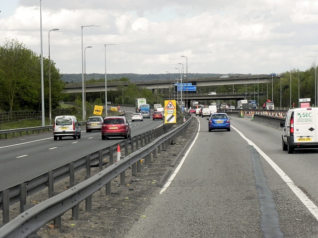 Chevening Road Bridge over Eastbound M26 and M25 Spur