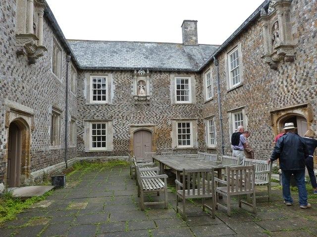 Tudor Courtyard, Cadhay House
