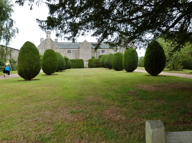 Cadhay House from the formal garden