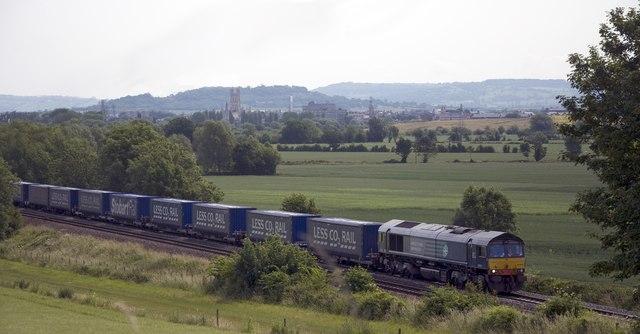 Railway near Highnam