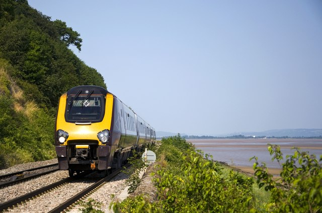 Railway by the River Severn