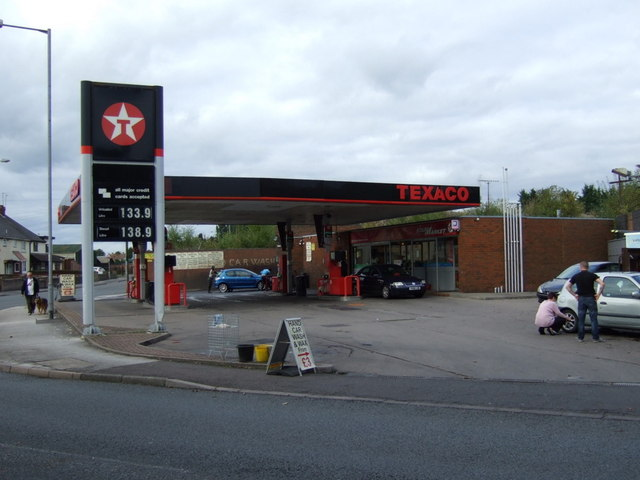 Service station off Monmer Lane