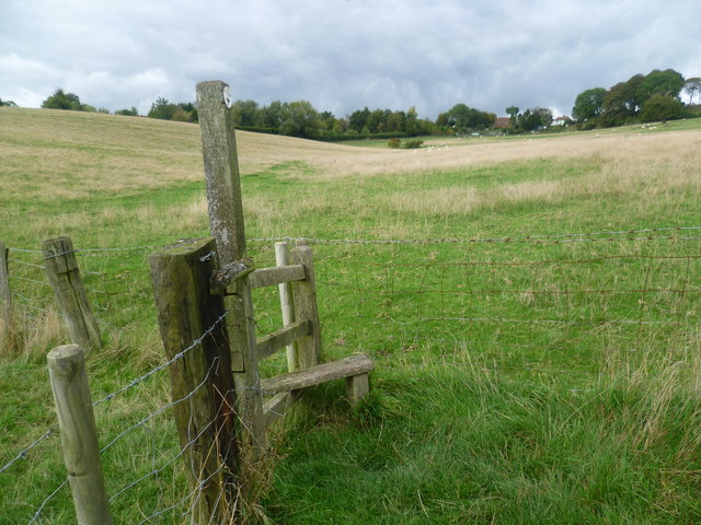Stile on the Saxon Shore Way