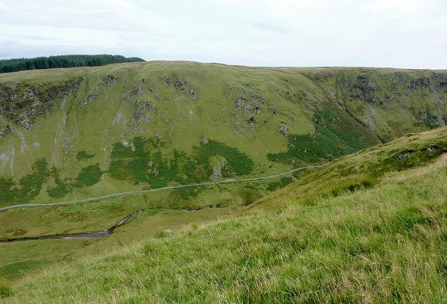 Across Cwm Irfon, Powys