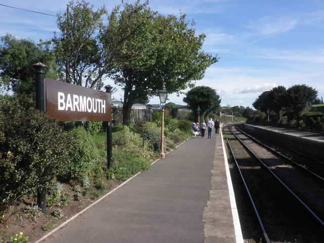 Platform 1, Barmouth railway station?