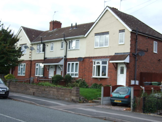 Houses on March End Road, Wednesfield