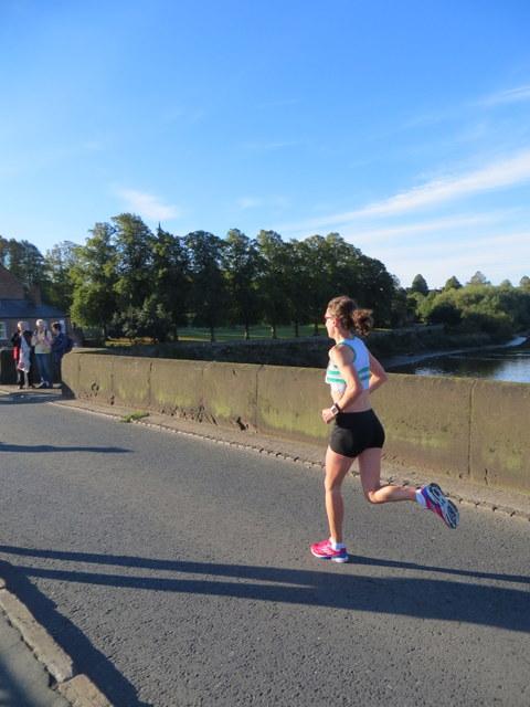 MBNA Chester Marathon 2013 - #31 on the Old Dee Bridge