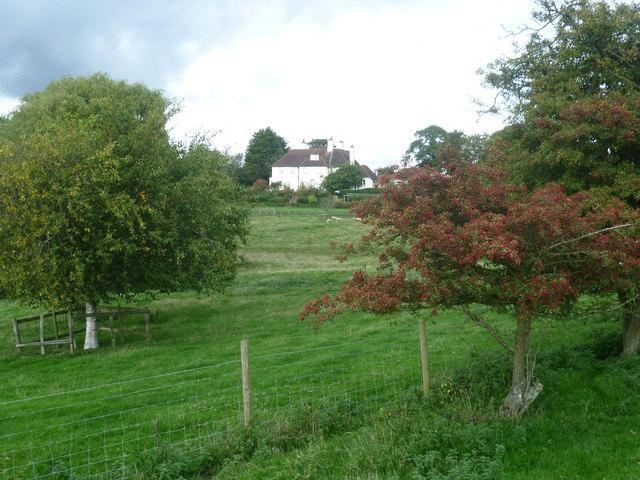 View from the Saxon Shore Way near Aldington