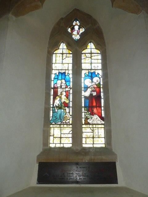 St Nicholas, Sandford Orcas: stained glass window (e)