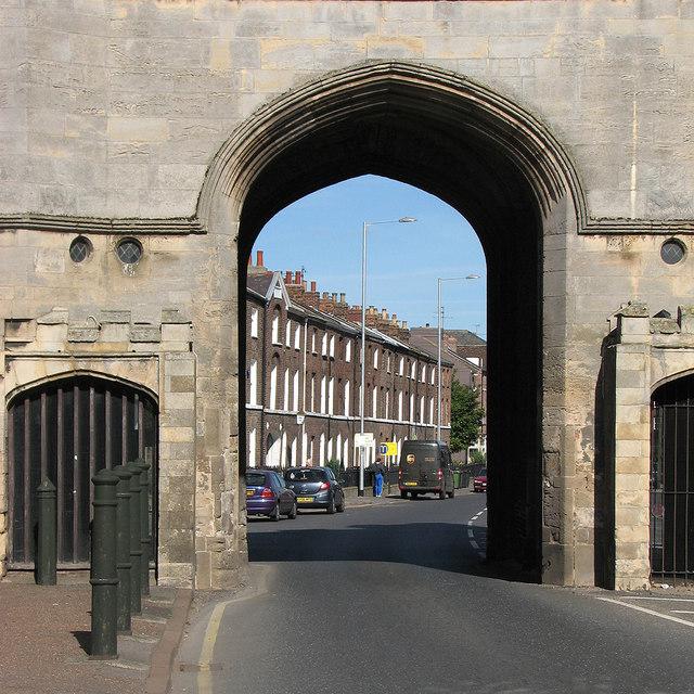 King's Lynn: through South Gate