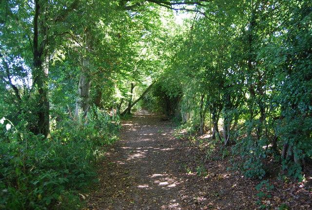 Bridleway to Staplecross