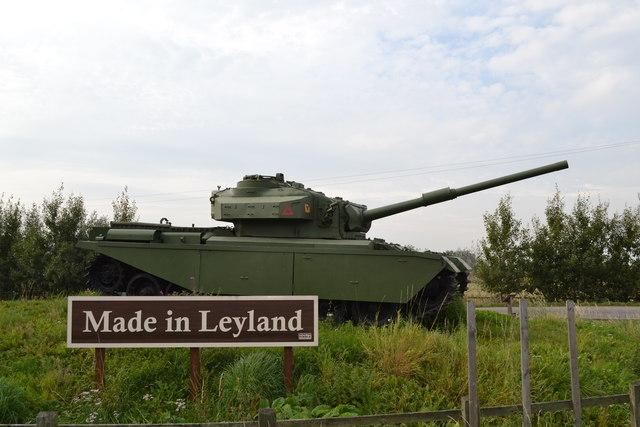 Made in Leyland - The Centurion Tank, Farington Moss, near Leyland