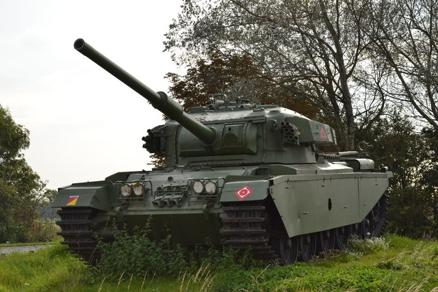 The Centurion Tank, Farington Moss, near Leyland - 2