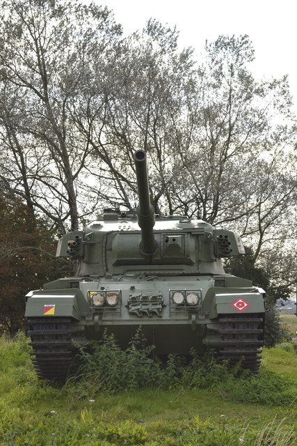 The Centurion Tank, Farington Moss, near Leyland - 3