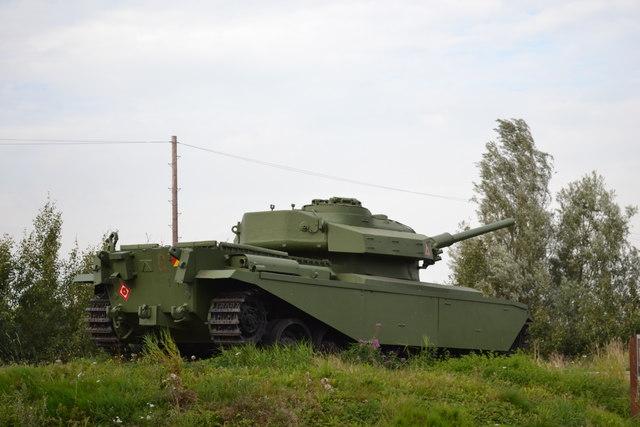 The Centurion Tank, Farington Moss, near Leyland - 5