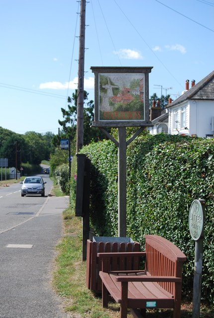Staplecross Village Sign