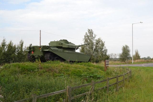The Centurion Tank, Farington Moss, near Leyland - 6