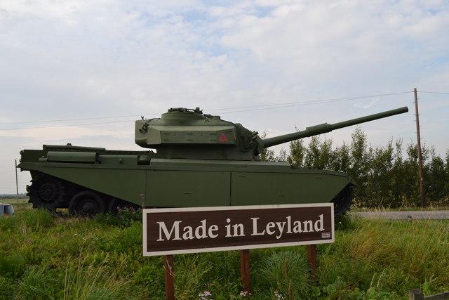 The Centurion Tank, Farington Moss, near Leyland - 7