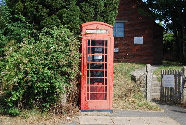Telephone Box, Staplecross