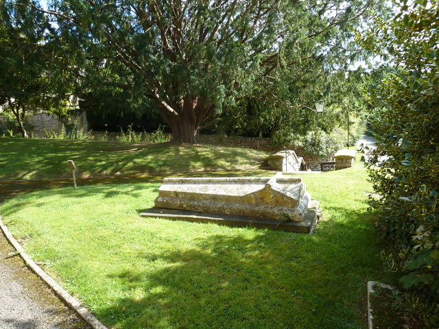St Nicholas, Sandford Orcas: churchyard (2)