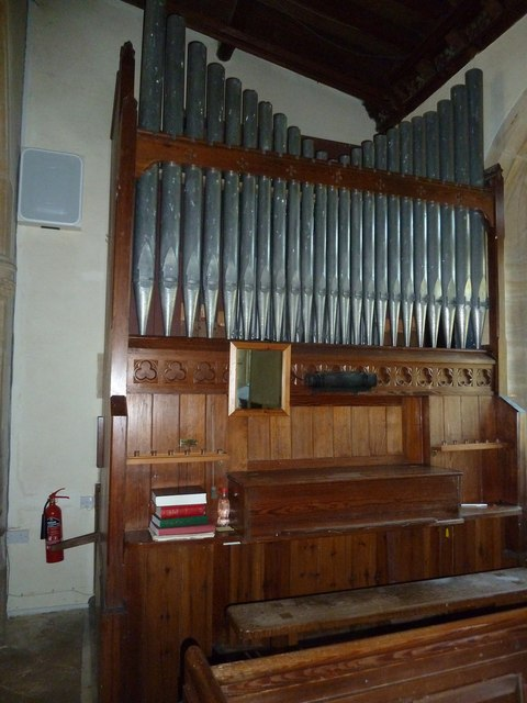 St Nicholas, Sandford Orcas: organ