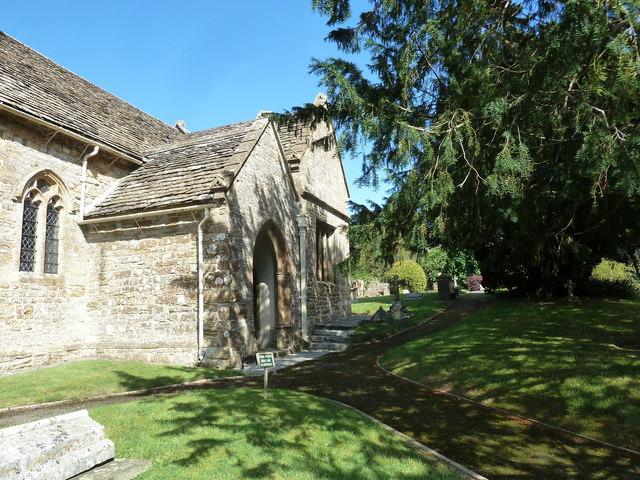 St Nicholas, Sandford Orcas: churchyard (7)