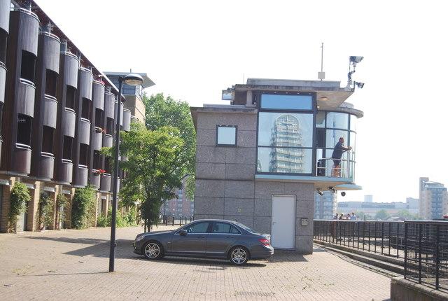 South Dock Lock Control Building
