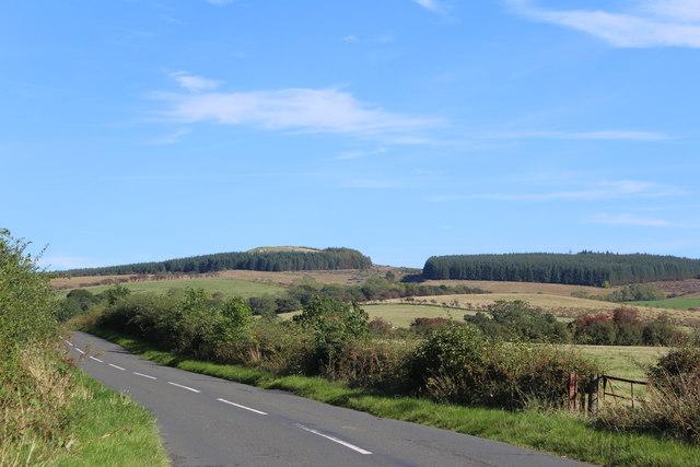 Road & Landscape between Cairn Hill & Barracks Bridge