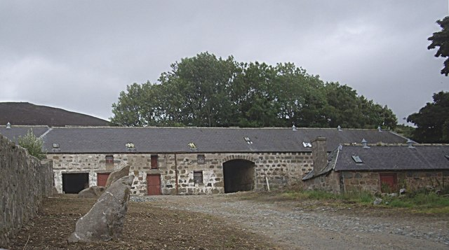 Steading at Newseat Farm