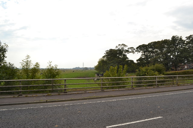 Dow Brook Bridge (South Side), Preston New Road, Freckleton