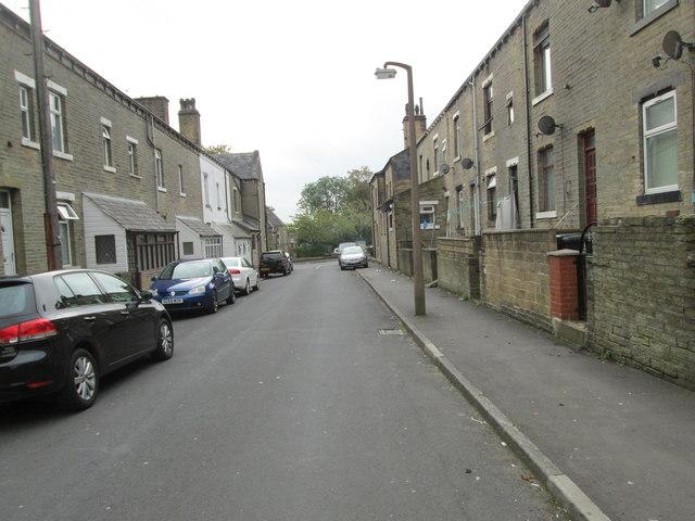 Conway Street - looking towards Parkinson Lane