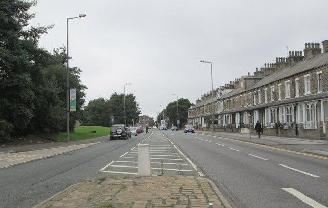 King Cross Street - viewed from Parkinson Lane