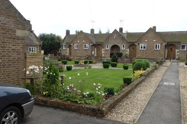 Alms house Quadrangle