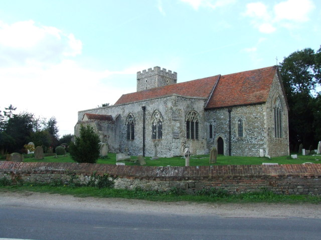 All Saints, Graveney