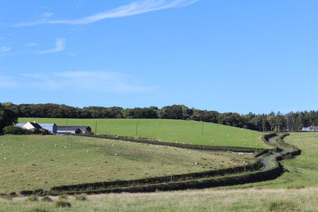 View towards Glastron & Kilmore Lodge