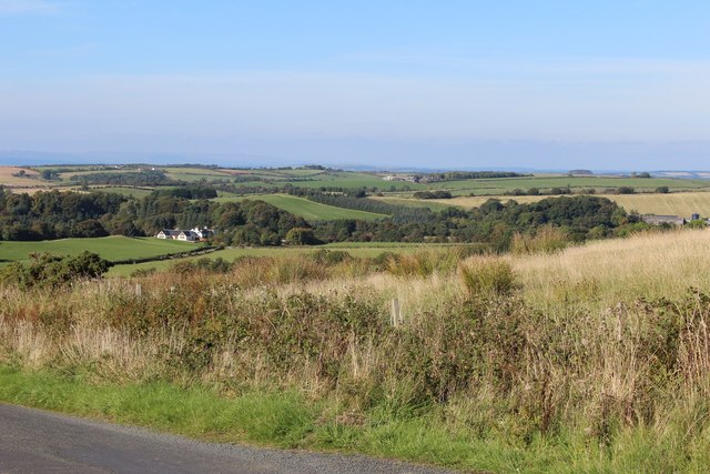 View from Minor Road north of Kilmore Lodge