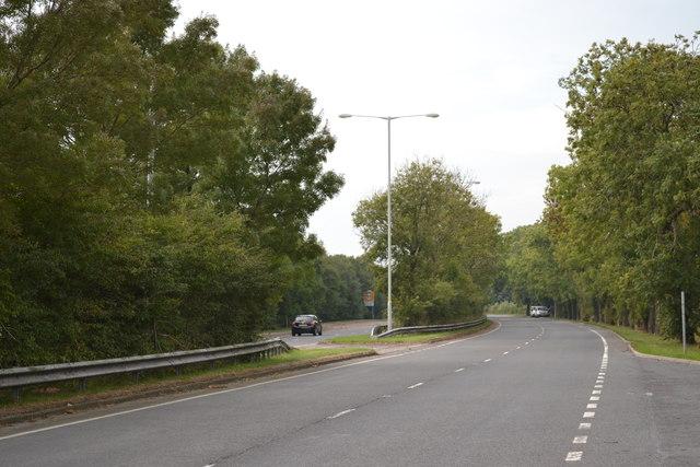 A584 Preston New Road, near Freckleton Village