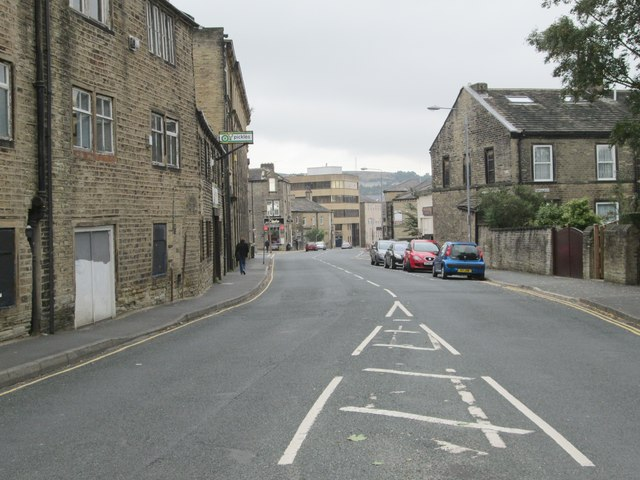 Savile Park Road - viewed from Hill Street