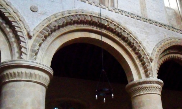 Norman arch, St. Andrew's, Steyning