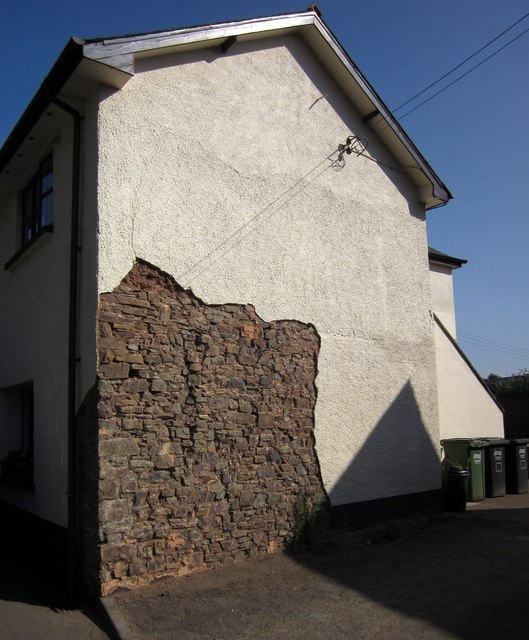 Unrendered wall, Witheridge