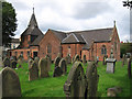 SJ6974 : Lostock Gralam - Church by Dave Bevis